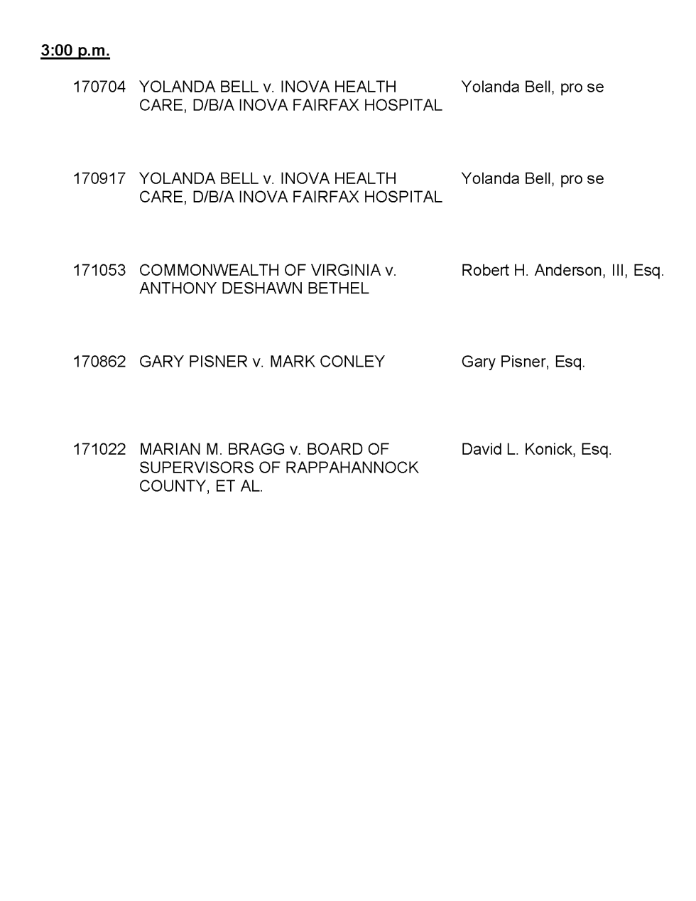 Supreme Court of Virginia - December 5, 2017 Docket-1_Page_3